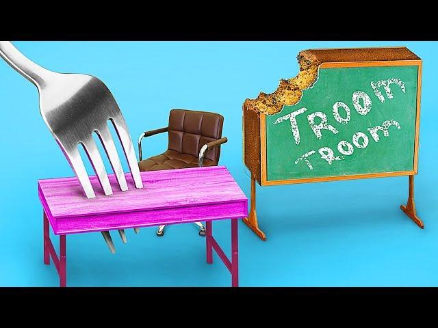 Миниатюрные сладости в школе – 9 идей