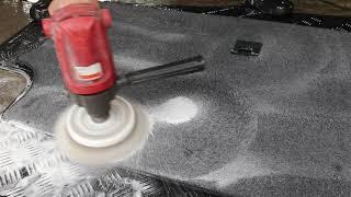 벤츠 CLK 230 실내크리닝 (트렁크 매트 브러쉬)
