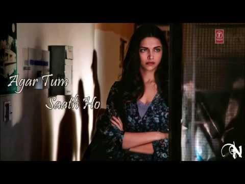 Agar Tum Saath Ho | Lyrics | Full Song | Tamasha | Ranbir Kapoor, Deepika Padukone