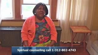 Spiritual counseling is what Min.Williams does well .Watch her TV show .