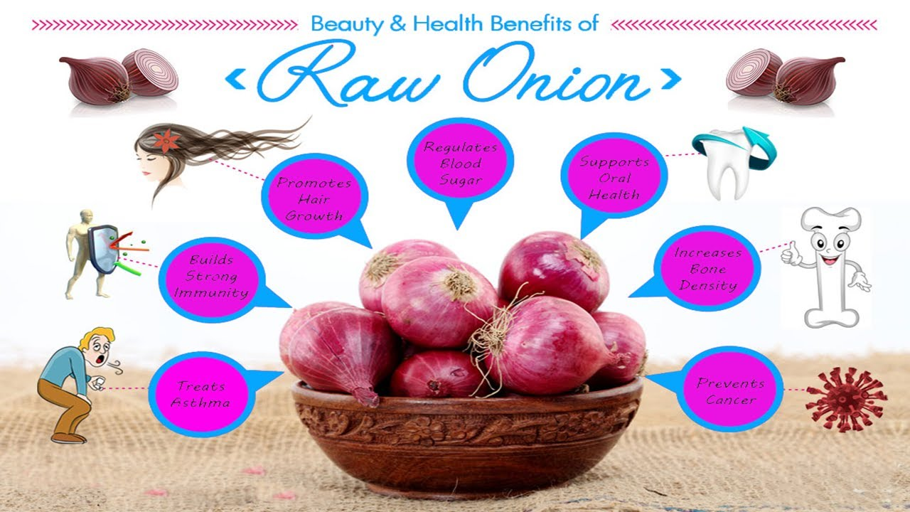 Sexual health benefits of onions juice
