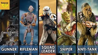 We put together our best squad of soldiers in Star Wars. Best Starf...