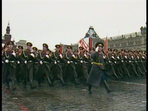 HD Final Soviet October Revolution Parade, 1990 Парад 7 Ноября