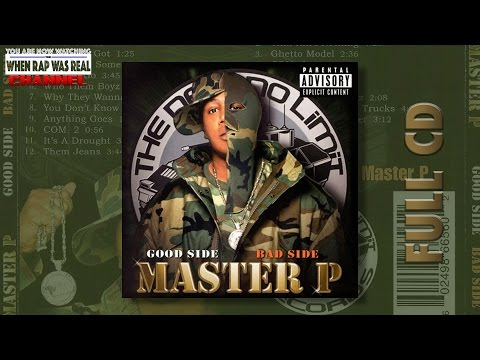 Master P - Good Side Bad Side [Full Double Album] Cd Quality