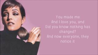 Lisa Marie Presley - Nobody Noticed It (Lyrics)
