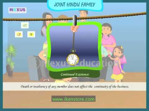 joint hindu family an affectionate business project for 12th