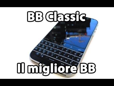 """BlackBerry Classic: il miglior BB """"moderno"""""""
