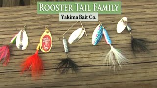 Yakima Bait Rooster Tail Spinners