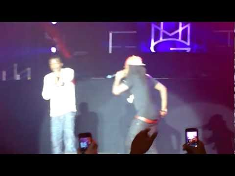 Wale and Meek Mill Maybach Music Group Tour Actin' Up live in San Jose.[HD]