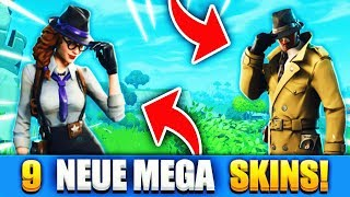 9 NEW MEGA SKINS, EMOTES AND ITEMS COME TO FORTNITE!! - Fortnite Battle Royale