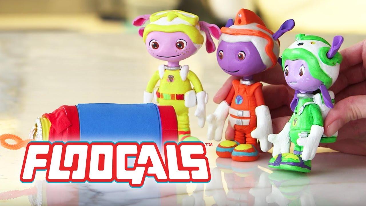 Kids Toys Action Figure: Floogals: Action Figure Theater Bubbles Scene