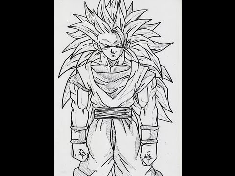 no552 dragon ball z goku ss3 full body