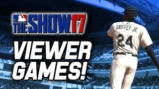 VIEWER GAMES! | MLB The Show 17 Diamond Dynasty