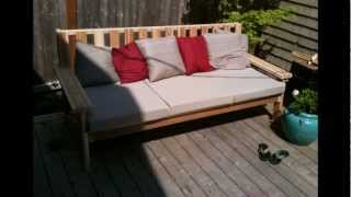 Outdoor Furniture Building (cheap And Eazy)
