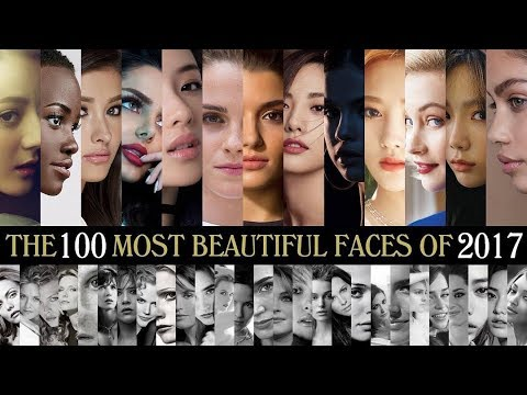 The 100 Most Beautiful Faces of 2017 thumbnail
