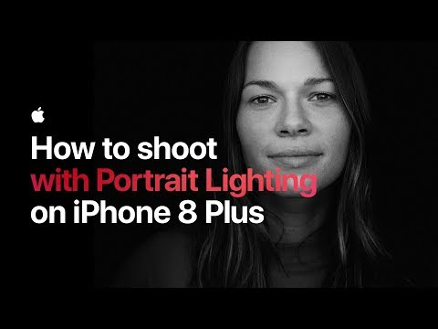 Download Youtube: How to shoot with Portrait Lighting on iPhone 8 Plus — Apple