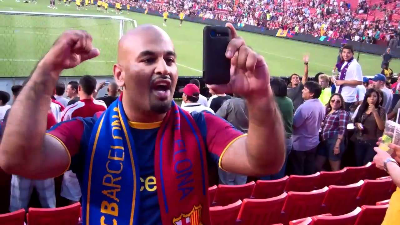 d9bee427d0a Never Wear a Real Madrid Shirt to a Barcelona Game - YouTube