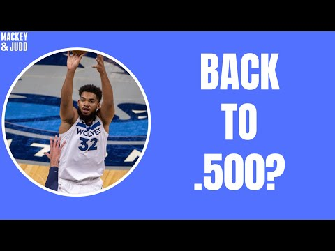 Can Karl-Anthony Towns get Minnesota Timberwolves back to .500?