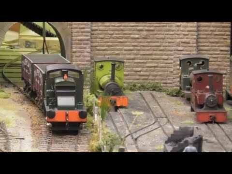 Tolworth Showtrain 2018 Model Railway Exhibition