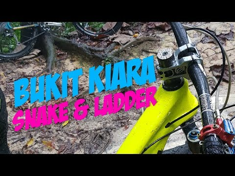 Bukit Kiara MTB | Snake & Ladder | BikeLog #7 | 4K 360 video!