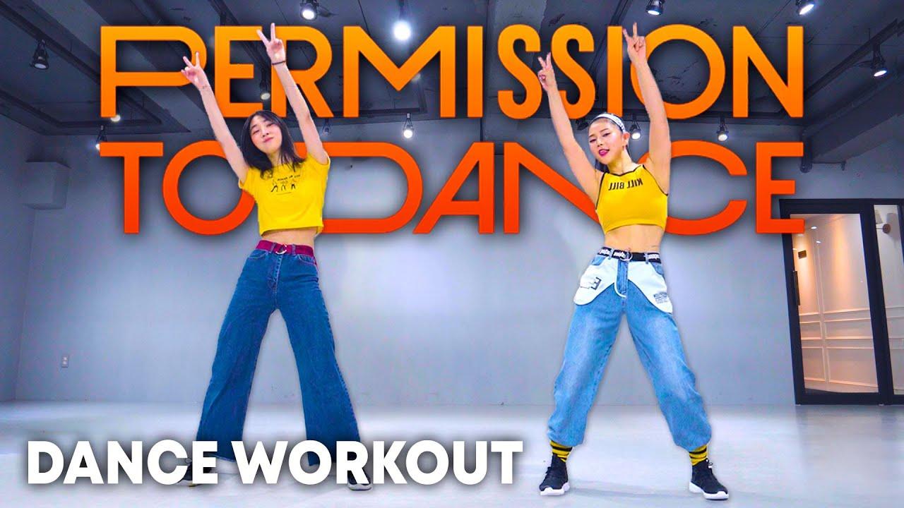 [Dance Workout] BTS 'Permission to Dance'   MYLEE Cardio Dance Workout   'Permission to Dance' Dance