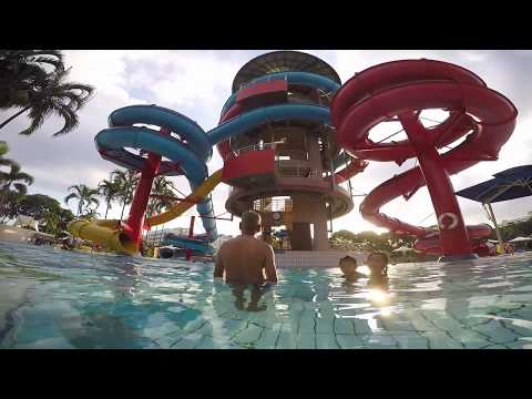 First time try wave pool @ Jurong East Swimming Complex, Singapore