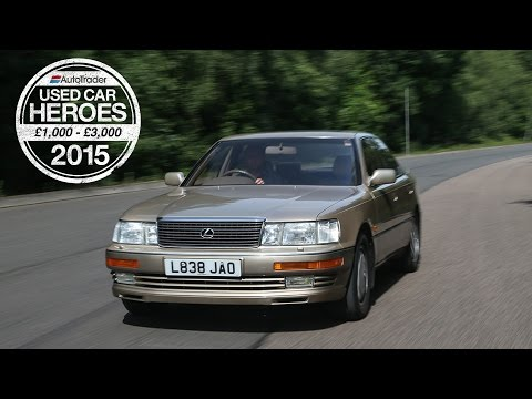 Used Car Heroes 1,000 3,000 Lexus LS400