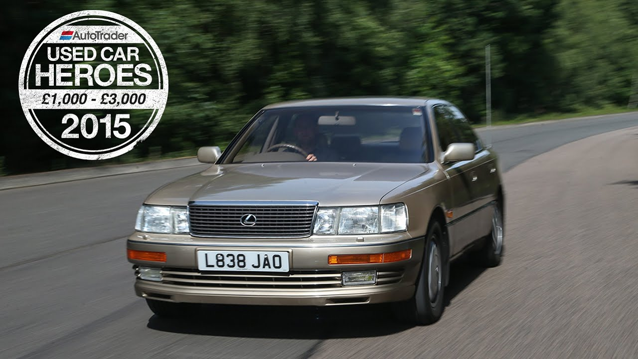 Used Car Heroes: £1,000 - £3,000 - Lexus LS400 - YouTube