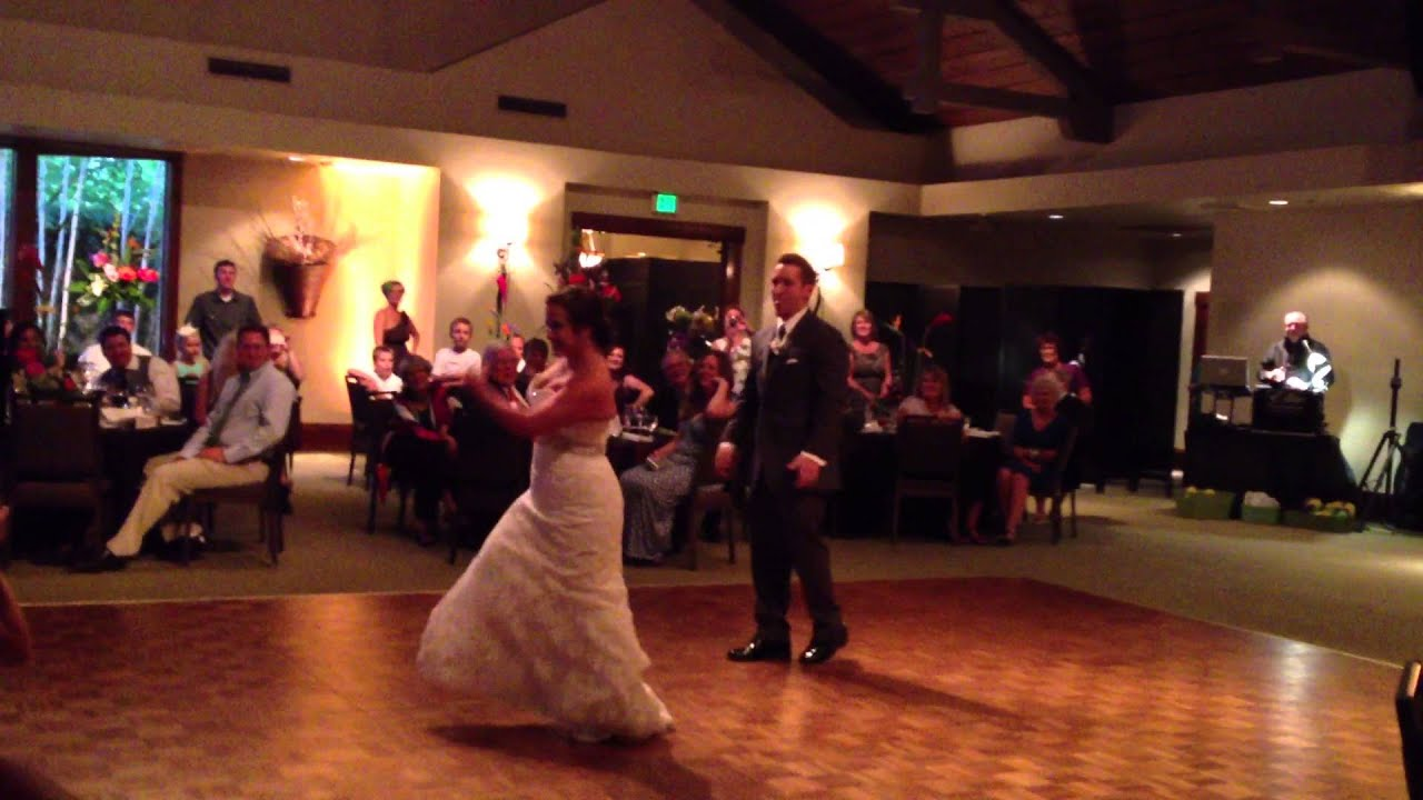 Best Bride And Groom First Dance Funny Turn Down For Whatt You