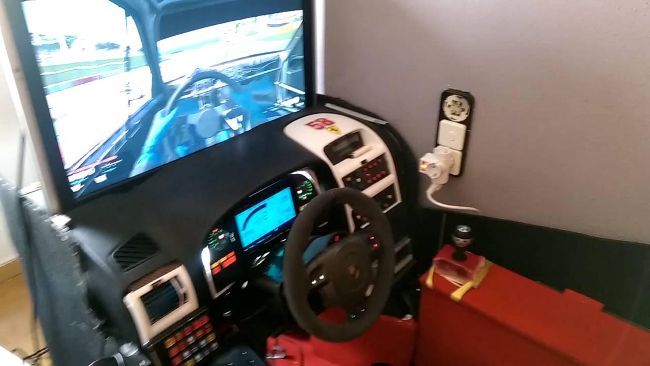 Cockpit car Simulador dashboard real