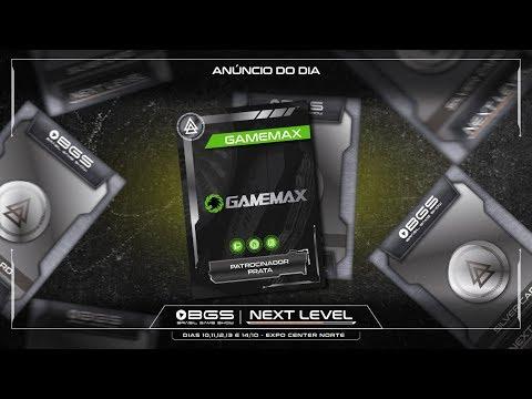 GAMEMAX ESTÁ CONFIRMADA NA #BGS2018