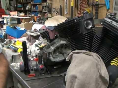 #161 1992 Harley FXR Evolution 88ci Motor Assemble Rebuild Tatro Machine