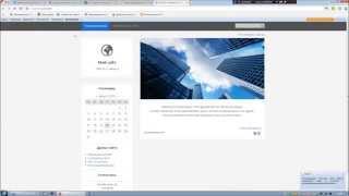 Как создать сайт на Юкоз. Урок 1. Регистрация