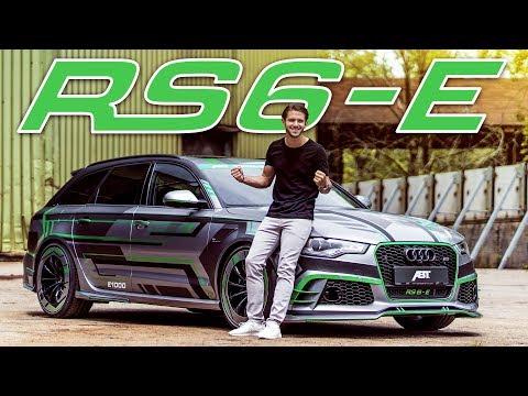 1000PS Abt Audi RS6-E   Der erste Hybrid RS6 der Welt!   Daniel Abt