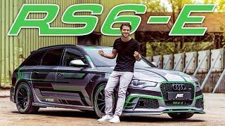 1000PS Abt Audi RS6-E | Der erste Hybrid RS6 der Welt! | Daniel Abt