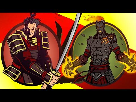 Мультик игра Shadow Fight 2 Бой с тенью #31 Капитан Вулкан Тесак Вор Белка Вихрь Циганка #КРУТИЛКИНЫ