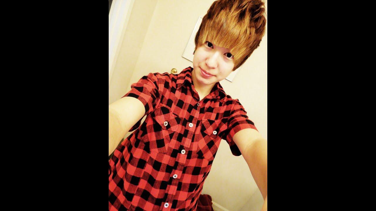 How To Basic Asian Tomboy Hair Style Tutorial 抓頭髮教學