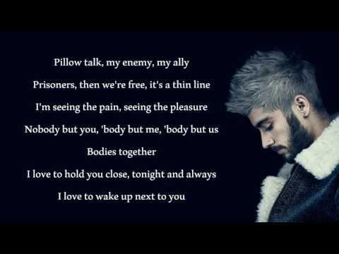 Zayn Malik - PillowTalk ! Letra & Link De Descarga