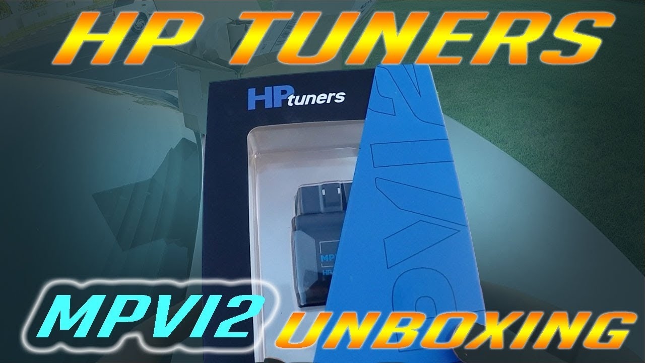 Unboxing HP Tuners MPVI2