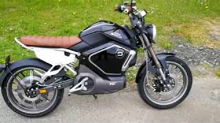 Moto Electrique Super Soco TC : un roadster de caractère accessible sans permis