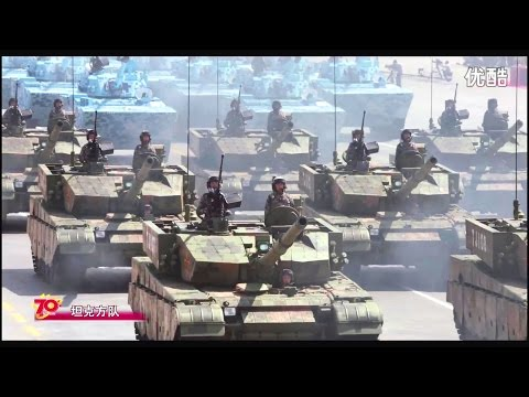 China Victory Day Parade 2015 : Full Army & Air Force Military Assets Segment [1080p]