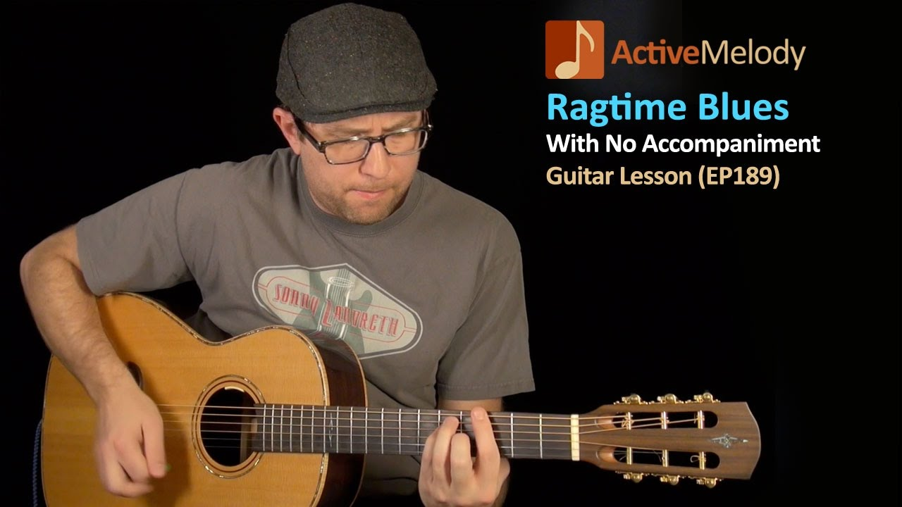 how to play ragtime blues guitar
