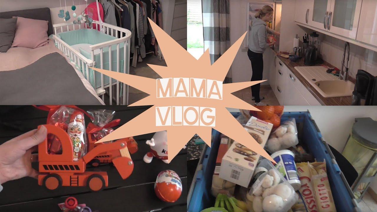 Mama Vlog Nikolaus Geschenke Beistellbett Kommt Weg Baby Baden