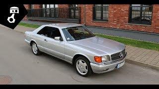 Mercedes 560 SEC W126, сумасшедший стиль; zhmuraTV