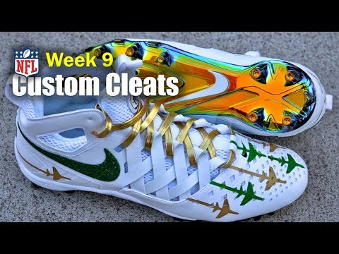 BEST Football Cleats 🎨 In The NFL - Week 9