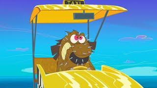 Зиг и Шарко 🚖💥 желтое такси 🚖💥 русский мультфильм дети видео мультфильмы