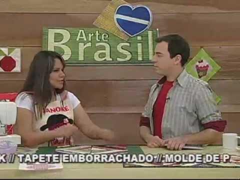 ARTE BRASIL - GEISA LENTINI - BLOCO DE TIRAS EM PATCHWORK
