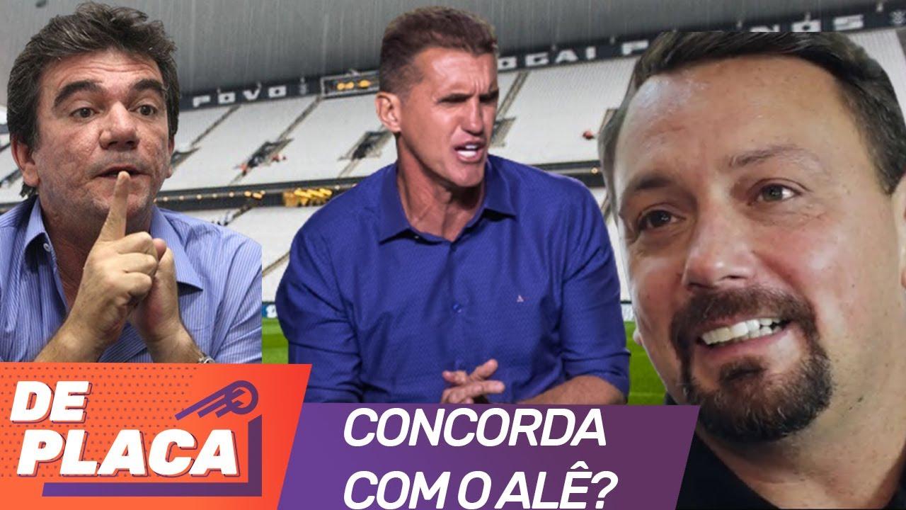 'SALVE O CORINTHIANS', afirma Alê Oliveira