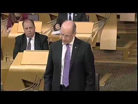 John Swinney - On the Draft Budget  for 2013-14 20/09/2012