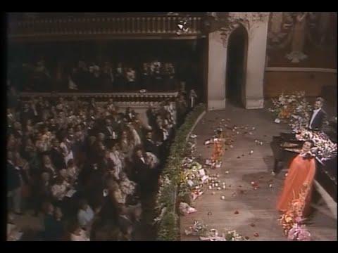 Victoria de los Angeles.TV.Clavelitos.BARCELONA.1989.Palau de la Musica.